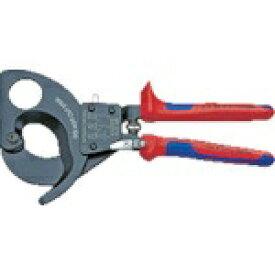 KNIPEX社 クニペックス ラチェットケーブルカッター 280mm 9531280