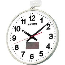 セイコー SEIKO 掛け時計 シルバー SF211S [電波自動受信機能有]