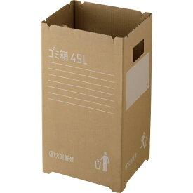 リス RISU 段ボールゴミ箱 2個組 ダンボール GGYC725 [45L]