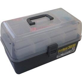 明邦化学工業 MEIHO フィットボックス NO.3030 NO3030GY