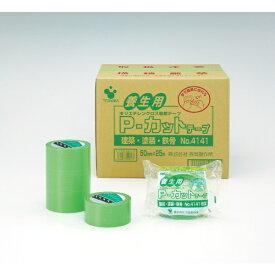 寺岡製作所 Teraoka Seisakusho P-カットテープ NO.4141 若葉 50mm×25M 4141LGR50×25[4141LGR50X25]
