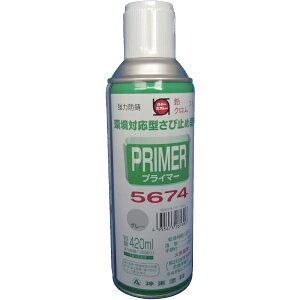 シントーファミリー SHINTO FAMILY プライマー5674グレー 420ML 9972639