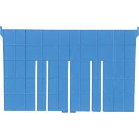 DICプラスチック ディーアイシープラスチック F型コンテナF-21用短手仕切板:243×230 青 F21S