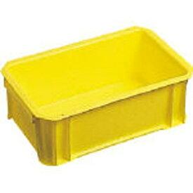 DICプラスチック ディーアイシープラスチック DA型コンテナDA-3 ボックス型 外寸:W264×D165×H95 黄 DA3