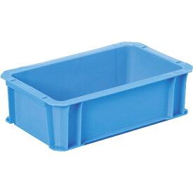 DICプラスチック ディーアイシープラスチック DA型コンテナ ボックス型 外寸:W326×D204×H100 青 DA5