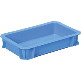 DICプラスチック ディーアイシープラスチック DA型コンテナDA-5L 外寸:W326×D204×H61 青 DA5L