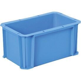 DICプラスチック ディーアイシープラスチック DA型コンテナDA-5H 外寸:W326×D204×H162 青 DA5H