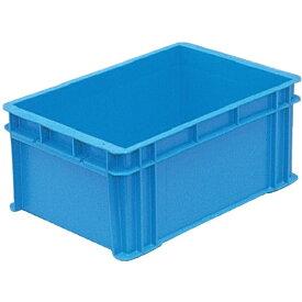 DICプラスチック ディーアイシープラスチック DA型コンテナ ボックス型 外寸:W408×D271×H178.5 青 DA14