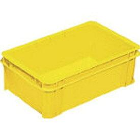 DICプラスチック ディーアイシープラスチック DAP型コンテナDAP-15 外寸:W461×D282×H157 黄 DAP15