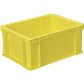 DICプラスチック ディーアイシープラスチック DA型コンテナDA-28 外寸:W480×D360×H223 黄 DA28