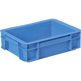 DICプラスチック ディーアイシープラスチック D型コンテナ D-1 ボックス型 外寸:W366×D274×H109 青 D1