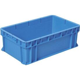 DICプラスチック ディーアイシープラスチック RC型コンテナRC-37 外寸:W620×D380×H210 青 RC37