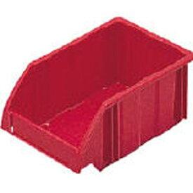 DICプラスチック ディーアイシープラスチック B型コンテナ B-1 外寸:W197×D130×H90 赤 B1