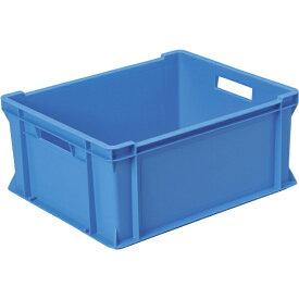 DICプラスチック ディーアイシープラスチック DA型コンテナDA-19 外寸:W434×D354×H195 青 DA19