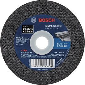 BOSCH ボッシュ 切断砥石 105×1.0×15 10枚入りVシリーズ MCD10510VM10