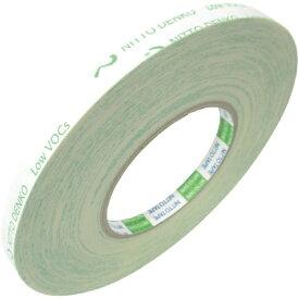 日東 Nitto 低VOC再はく離可能両面テープ No.5000E 10mm×20m 50000000000000[NO5000E]