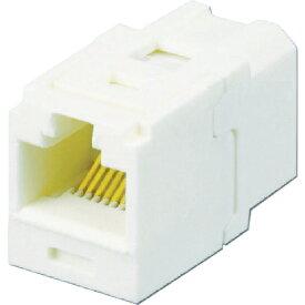 パンドウイット PANDUIT カテゴリ6 JJアダプタ(RJ45中継用ジャック) オフホワイト CC688IW