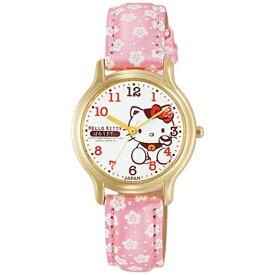 シチズンCBM CITIZEN CBM 【日本製】シチズン時計 Q&Q 腕時計 HELLO KITTY ハローキティ 0007N003 [正規品]
