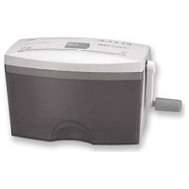 アスカ ASKA HC453CD ハンドシュレッダー Asmix ホワイト [クロスカット /A4サイズ /CDカット対応][HC453CD]