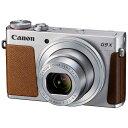 【送料無料】 キヤノン CANON コンパクトデジタルカメラ PowerShot(パワーショット) G9 X(シルバー)[生産完了品 在庫限り][PSG9XSL...