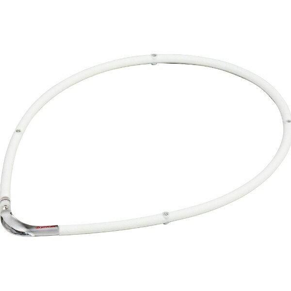 ファイテン RAKUWA磁気チタンネックレスS-II(ホワイト×クリア/55cm)0215TG677154