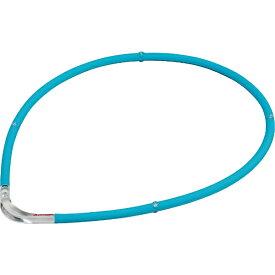 ファイテン PHITEN RAKUWA磁気チタンネックレスS-II(ブルー×クリア/55cm)0215TG677454