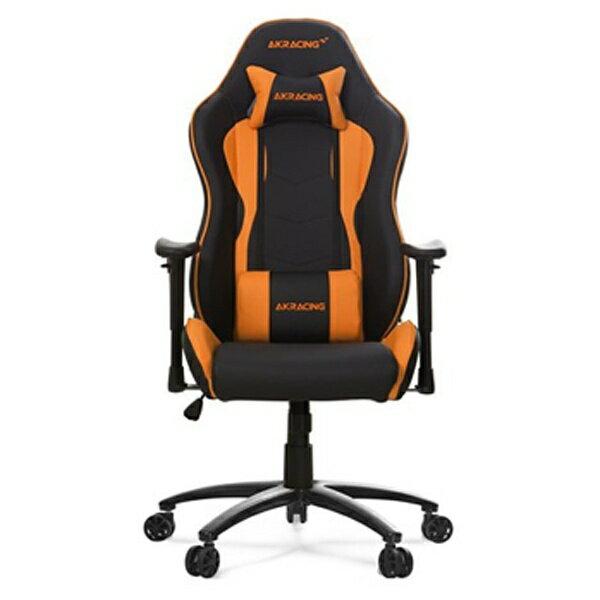 AKRACING 〔ゲーミングチェア〕 Nitro Gaming Chair オレンジ NITROGAMINGCHAIRORA[NITROGAMINGCHAIRORA]