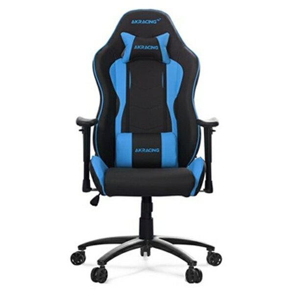 AKRACING 〔ゲーミングチェア〕 Nitro Gaming Chair ブルー NITROGAMINGCHAIRBLU[NITROGAMINGCHAIRBLU]