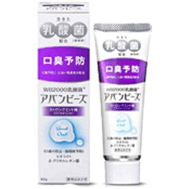 わかもと製薬 WAKAMOTO アバンビーズ 歯磨き粉 ストロングミント 80g【wtcool】