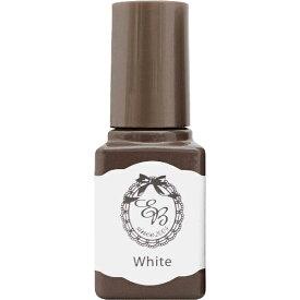 ディアローラ Dear Laura エターナルベーシックボトルジェルカラー ホワイト tuya-03 6ml