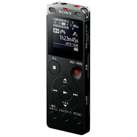 ソニー SONY ICD-UX565F ICレコーダー ブラック [8GB /ワイドFM対応][ICDUX565FBC]