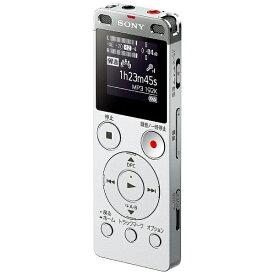 ソニー SONY ICD-UX560F ICレコーダー シルバー [4GB /ワイドFM対応][ICDUX560FSC]