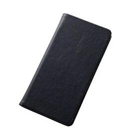 レイアウト rayout Xperia Z5用 手帳型ケース スマートブックレザーケース 合皮 ブラック RT-RXPH1MLC1/B[RTRXPH1MLC1B]