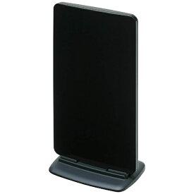 マスプロアンテナ 地上デジタル放送対応アンテナ UTA2BBK ブラック (ブースター内蔵型)【強電界地域用】[UTA2BBK]