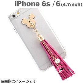 HAMEE ハミィ iPhone 6s/6用 タッセルクリアケース ディズニー・ミニー IP6SDSタッセルクリアケースMN