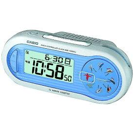 カシオ CASIO 電波目覚まし時計 wave ceptor(ウェーブセプター) ブルー SQD-1000SJ-2JF [デジタル /電波自動受信機能有][SQD1000SJ2JF]
