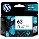 HP 【純正】 HP 63 インクカートリッジ (カラー) F6U61AA
