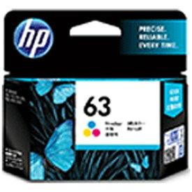 HP ヒューレット・パッカード F6U61AA 純正プリンターインク 63 3色カラー[F6U61AA]