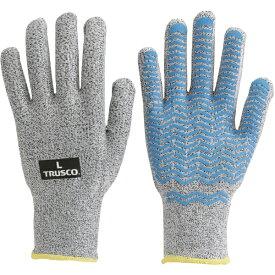 トラスコ中山 すべり止め付耐切創手袋 NR #3 L TCRAG3NRL