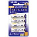東芝 TOSHIBA TNH-3AH 単3形 充電池 IMPULSE(インパルス)高容量タイプ [4本][TNH3AH4P]