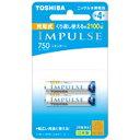 東芝 TOSHIBA TNH-4ME 単4形 充電池 IMPULSE(インパルス)スタンダードタイプ [2本][TNH4ME2P]