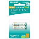 東芝 TOSHIBA TNH-4LE 単4形 充電池 IMPULSE(インパルス)ライトタイプ [2本][TNH4LE2P]