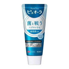 花王 Kao PureOral(ピュオーラ)薬用ピュオーラ 洗クリーンミント ST 115g 〔歯磨き粉〕