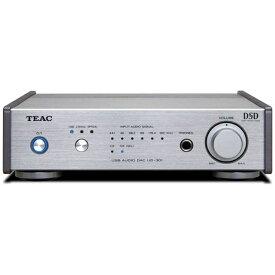 TEAC ティアック 【ハイレゾ音源対応】ヘッドホンアンプ DAC付(シルバー) UD-301 SPS [DAC機能対応 /ハイレゾ対応][UD301SPS]