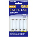 東芝 TOSHIBA TNHC-34HBC 充電器 IMPULSE [充電器のみ /単3形〜単4形兼用]