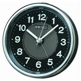 セイコー SEIKO 目覚まし時計 黒メタリック KR895K [アナログ]