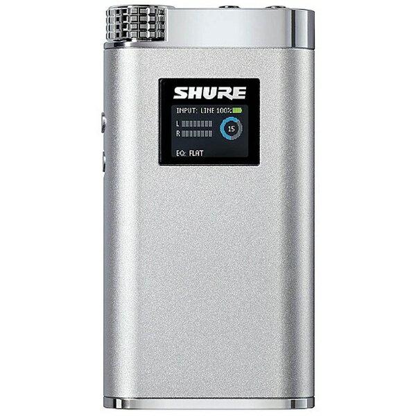 SHURE シュアー ポータブルヘッドホンアンプ  SHA900J-P[SHA900JP]