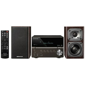 ケンウッド KENWOOD ミニコンポ XK-330-B [ワイドFM対応 /Bluetooth対応 /ハイレゾ対応][CDコンポ 高音質 XK330B]
