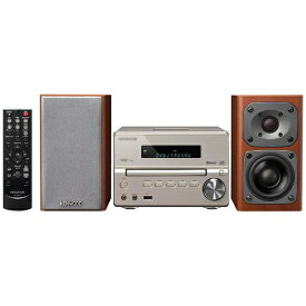 ケンウッド KENWOOD 【ハイレゾ音源対応】Bluetooth対応 コンパクトHi-Fiシステム(ゴールド) XK-330-N【ワイドFM対応】[XK330N]