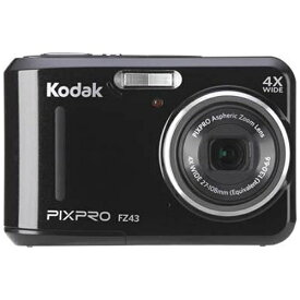 コダック Kodak FZ43 コンパクトデジタルカメラ PIXPRO ブラック[FZ43BK]